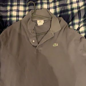 Long sleeve Lacoste polo. Comment any questions!!